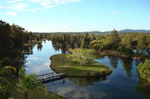 SOLD – Australian Waterfront Eco Tourism Retreat Resort Property Buy