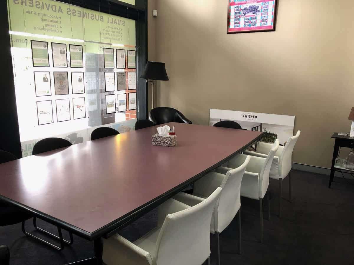 Alexandria Office Board Room