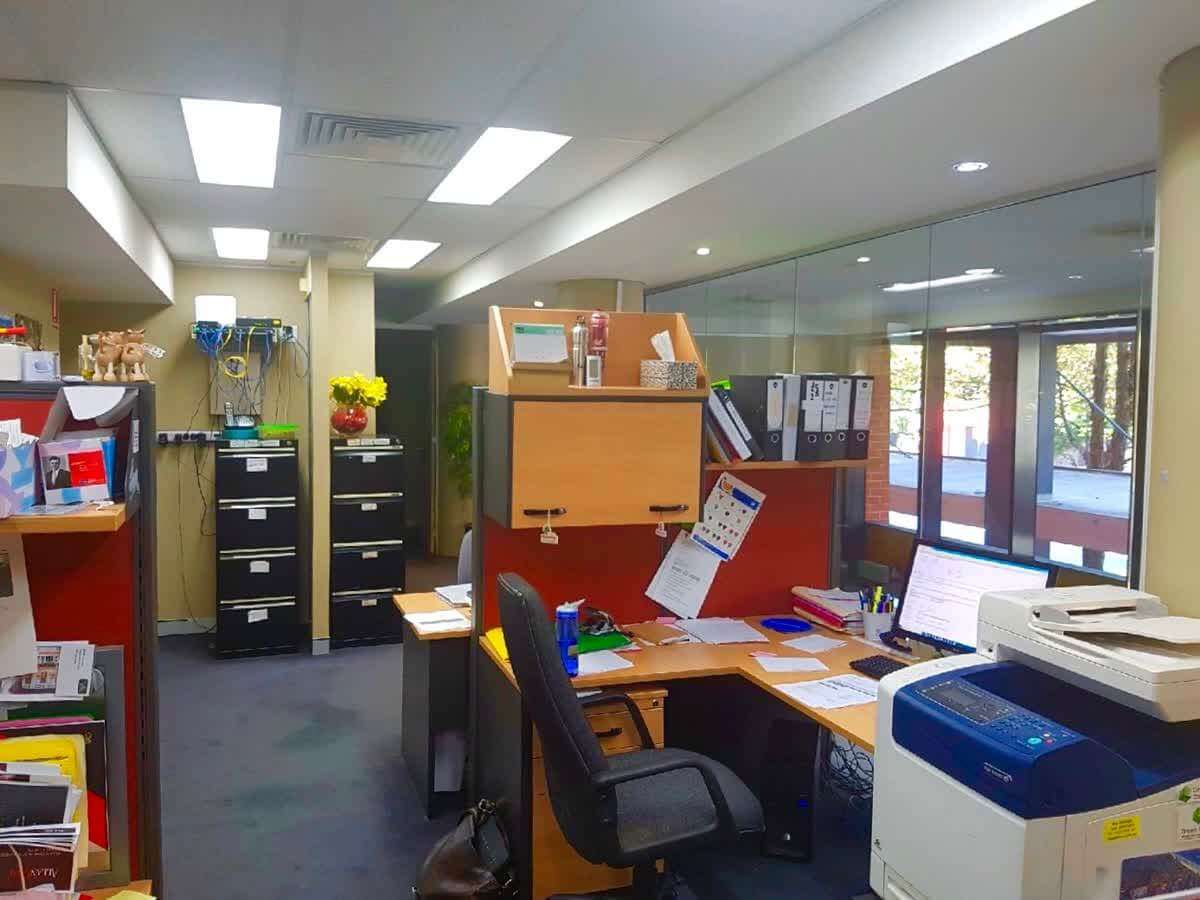 Alexandria Investment Open Office Area